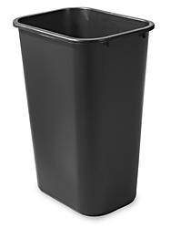 Rubbermaid Office Trash Can Black 10 Gallon S 13527bl