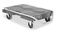 Rubbermaid® Triple Trolley Cart